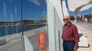 Jesús Platero en el Palmeral de las Sorpresas, Málaga