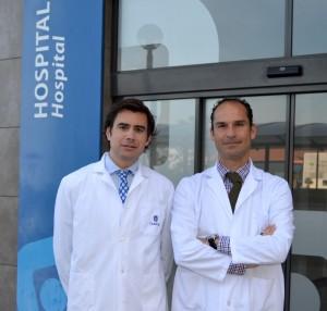 Dr. Machado y Dr. Ramírez, organizadores de la Jornada