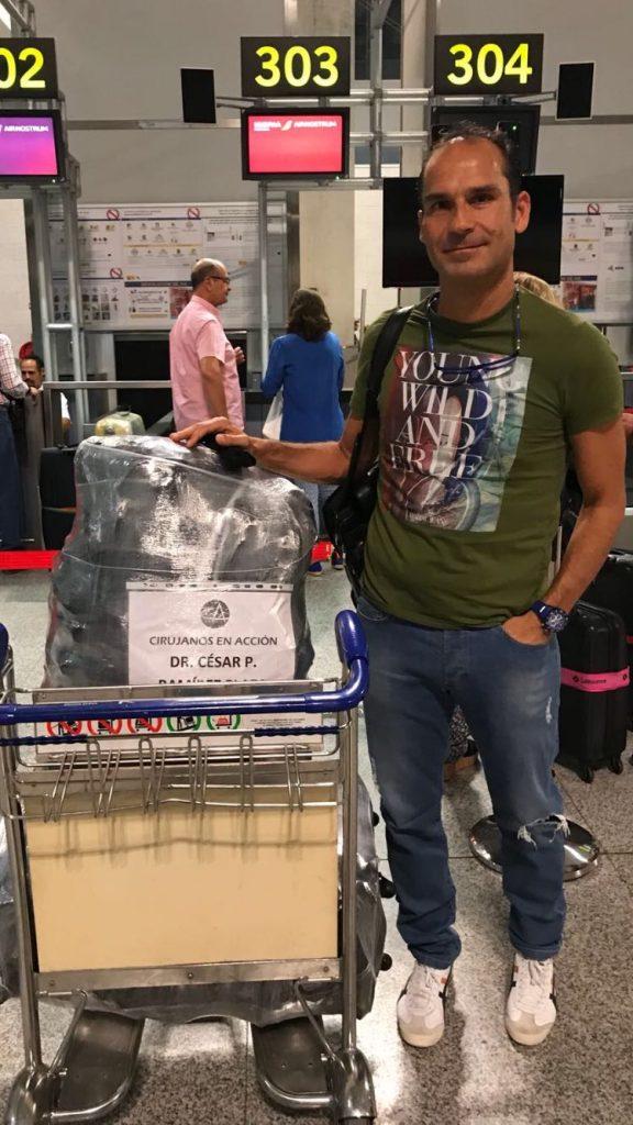 Dr Cesar Ramirez Mision Ecuador